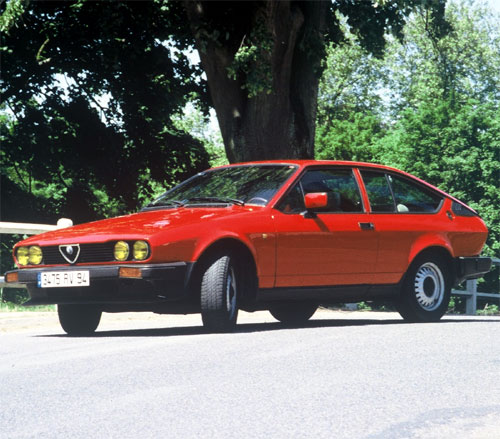 ALFA-ROMEO ALFETTA GTV2000 / GTV 2.0 (1977-1985)