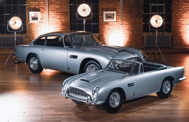 Aston Martin DB5 Junior : jouet d'exception